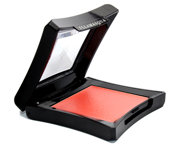 "Product Review: Illamasqua cream blush in ""rude"""